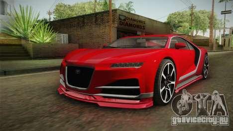 GTA 5 Truffade Nero IVF для GTA San Andreas