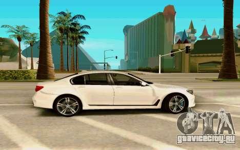 BMW 760 Li для GTA San Andreas вид слева