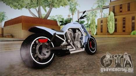 GTA 5 Western Nightblade для GTA San Andreas вид сзади слева