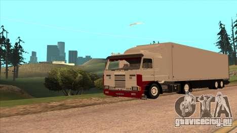 Scania 143M для GTA San Andreas вид слева