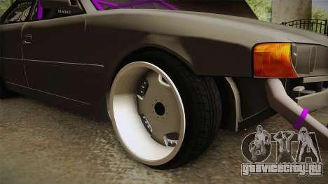 Toyota Chaser Tourer V Drift для GTA San Andreas вид сзади