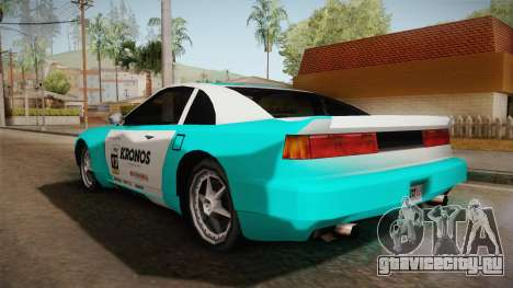 ETR1 EuR0S Blue для GTA San Andreas вид сзади слева