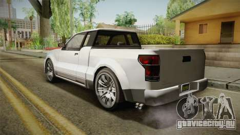 GTA 5 Vapid Contender 4 (5) IVF для GTA San Andreas вид слева