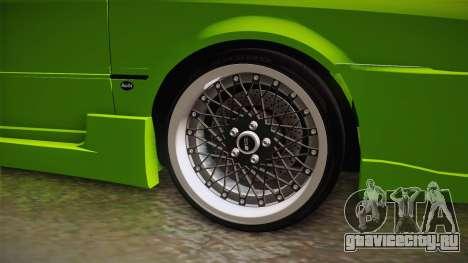 Audi 80 NFS для GTA San Andreas вид сзади