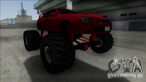 Toyota Celica GT-Four Monster Truck для GTA San Andreas вид справа