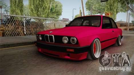 BMW 325i E30 Stance для GTA San Andreas