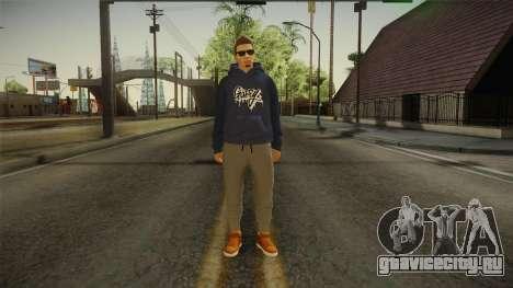 GTA 5 Online DLC Male Skin для GTA San Andreas второй скриншот