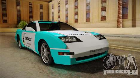 ETR1 EuR0S Blue для GTA San Andreas