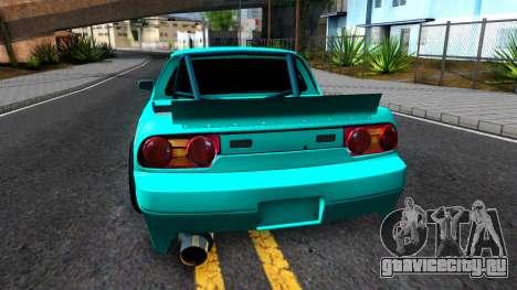 Nissan 200SX Pickup для GTA San Andreas вид сзади слева