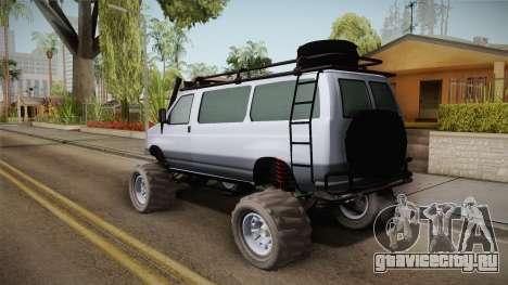 Bravado Rumpo Custom для GTA San Andreas вид слева
