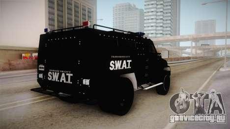 New Enforcer для GTA San Andreas вид слева