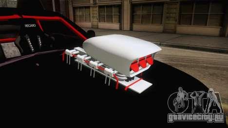 Nissan Skyline R33 Drag для GTA San Andreas вид изнутри