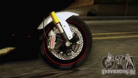 Ducati 1299 Panigale S 2016 Tricolor для GTA San Andreas вид сзади