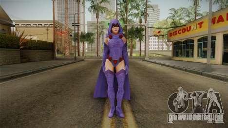 DC Legends - Raven для GTA San Andreas второй скриншот