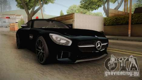 Mercedes-Benz AMG GT FBI 2016 для GTA San Andreas