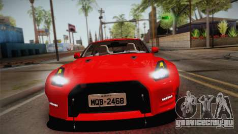 Nissan GT-R SR PRO для GTA San Andreas вид справа