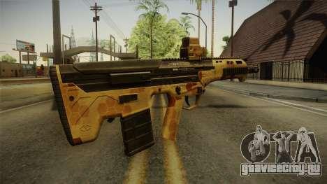 DesertTech Weapon 2 Camo для GTA San Andreas второй скриншот