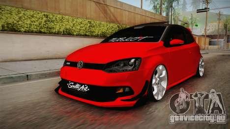 Volkswagen Polo Maskot для GTA San Andreas