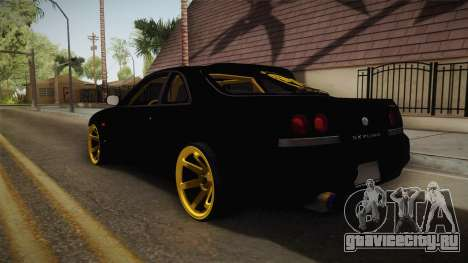 Nissan Skyline R33 Drift для GTA San Andreas вид справа