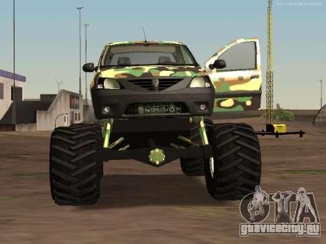 Dacia Logan OffRoad V1 для GTA San Andreas вид слева