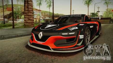 Renault Sport R.S.01 PJ1 для GTA San Andreas колёса