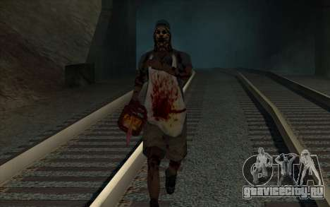 На рельсах (horror) для GTA San Andreas четвёртый скриншот
