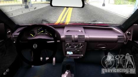 Chevrolet Corsa для GTA San Andreas вид изнутри