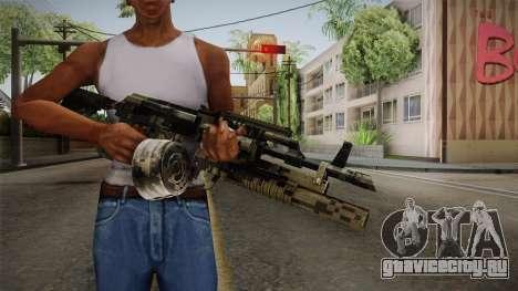 AK-47 with M203 для GTA San Andreas