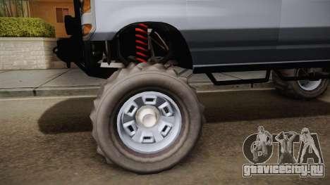 Bravado Rumpo Custom для GTA San Andreas вид сзади