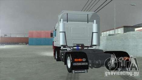 Scania 143M для GTA San Andreas двигатель