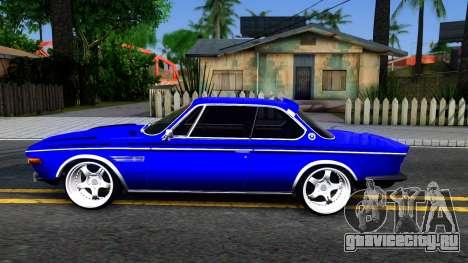 BMW 3.0 CSL для GTA San Andreas вид слева