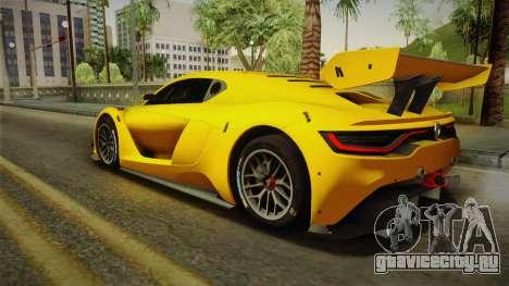 Renault Sport R.S.01 PJ1 для GTA San Andreas вид слева