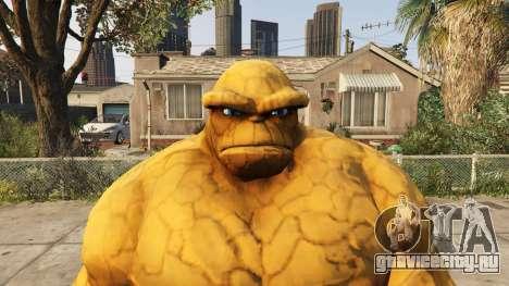 The Thing Pants для GTA 5 третий скриншот