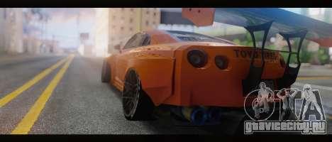 2015 Nissan GT-R R35 Liberty для GTA San Andreas вид слева