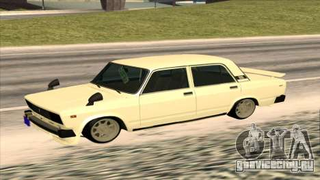 Lada 2105 для GTA San Andreas вид сзади