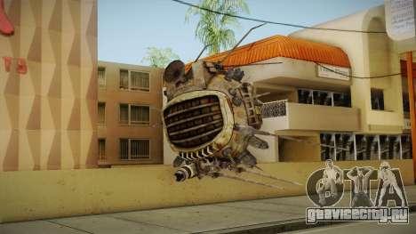 Fallout New Vegas - ED-E v2 для GTA San Andreas третий скриншот