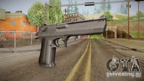 Desert Eagle 50 AE Black для GTA San Andreas