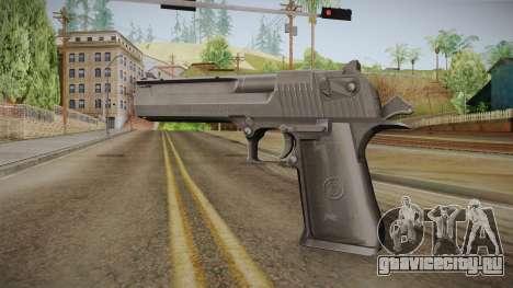 Desert Eagle 50 AE Black для GTA San Andreas второй скриншот
