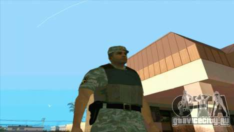 Сотрудник ОМОНа для GTA San Andreas третий скриншот