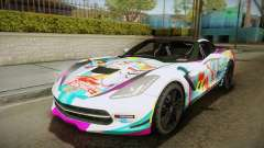 Chevrolet Corvette Z51 C7 2014 GOODSMILE Racing для GTA San Andreas