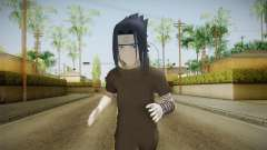 NUNS4 - Sasuke Genin Black Clothes Normal Eyes для GTA San Andreas