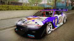 Nissan Silvia S15 Uras D1GP Mika Girl und Panzer для GTA San Andreas