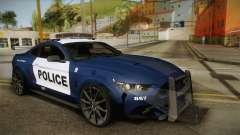 Ford Mustang GT 2015 Barricade Transformers 5 для GTA San Andreas