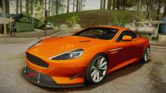 Aston Martin Virage 2012 для GTA San Andreas