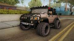 Hummer Wrangler H2 для GTA San Andreas