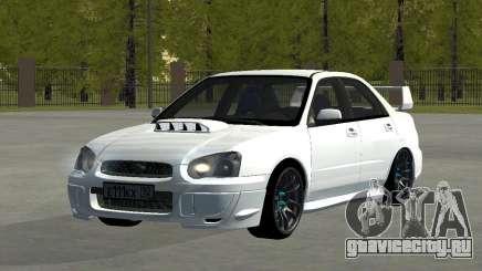 Subaru Impreza WRX STi Remastered для GTA San Andreas