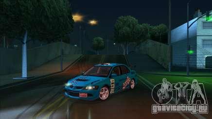 2003 Mitsubishi Lancer GSR Evolution VIII для GTA San Andreas
