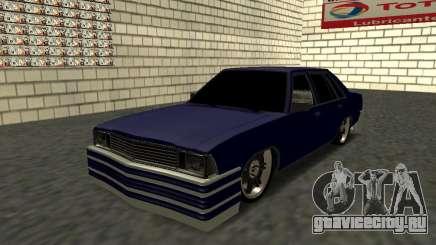 Chevrolet Malibu 1980 V3 Super Tuning Blue для GTA San Andreas