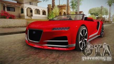 GTA 5 Truffade Nero Spyder для GTA San Andreas