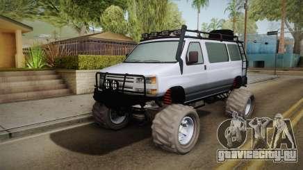 Bravado Rumpo Custom для GTA San Andreas